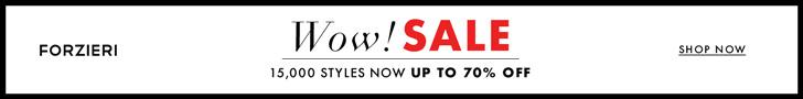 Sale at FORZIERI.COM