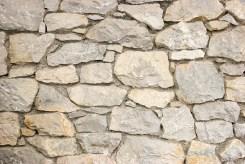 Mur i naturstein