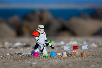Curtindo uma praia!