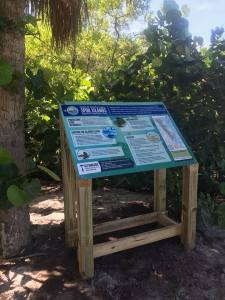 Spoil Island Project-Friends of the Spoil Islands educational signs 2