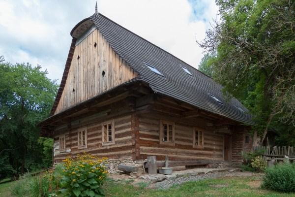 Roubený dům č. p. 17 v Ubušíně
