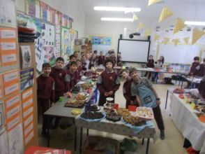 Bake Sale in 4th Class 2018 - 03