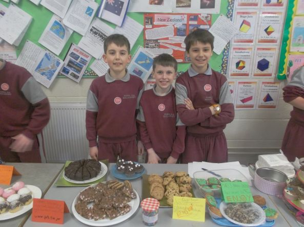 Bake Sale in 4th Class 2018 - 09