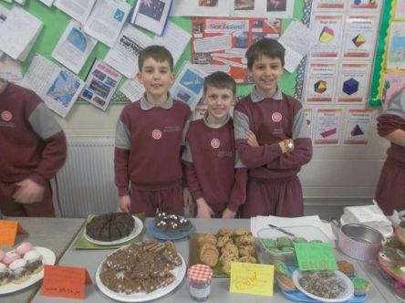 Bake Sale in 4th Class 2018 - 10