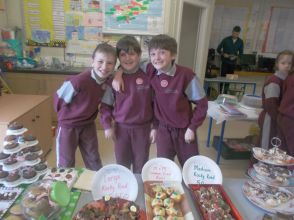 Bake Sale in 4th Class 2018 - 19