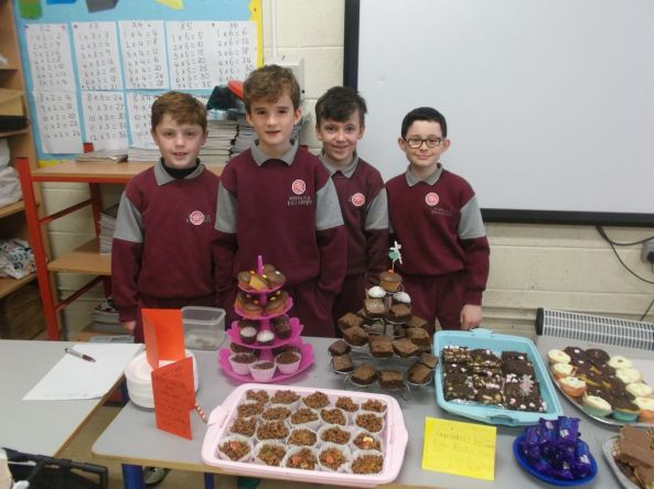 Bake Sale in 4th Class 2018 - 23