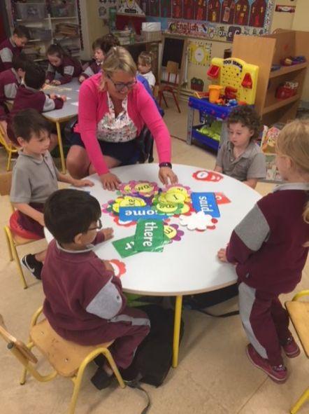 Team Teaching Junior Infants 2018 - 01