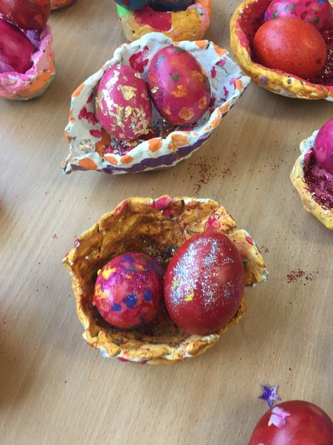 Easter Egg nests JI - 07