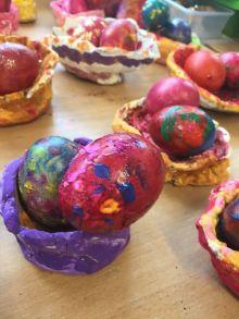 Easter Egg nests JI - 11