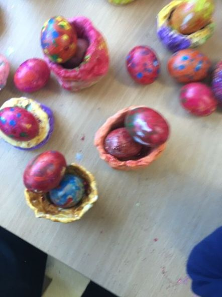 Easter Egg nests JI - 19