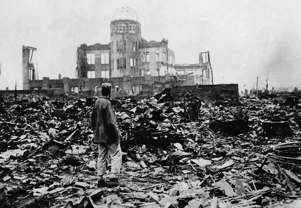 Hiroshima Carbon dating