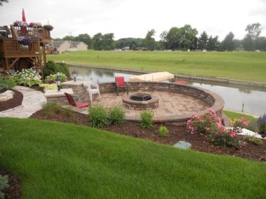 Firepits and Retaining Walls