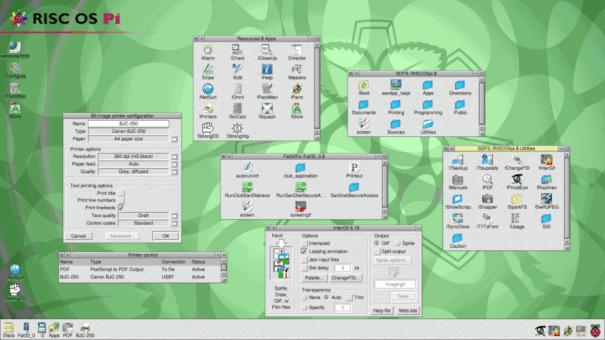 RISC OS for Raspberry Pi