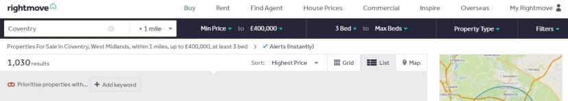 rightmove alerts.