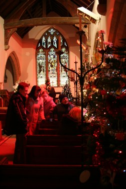 Christmas Tree Festival in the church