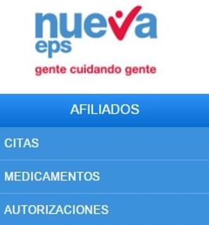 agendar en eps Bogotá, Medellín, Cali, Barranquilla