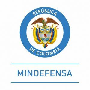 Logo del Ministerio de defensa de Colombia