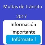 Multas de Tránsito. Nuevos precios en Colombia 2018.