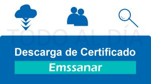 Certificado de afiliación Emmsanar