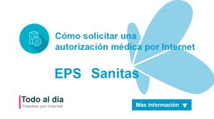 autorización eps sanitas
