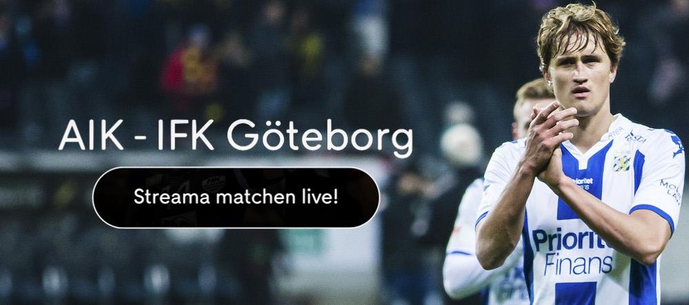 AIK IFK Göteborg live stream