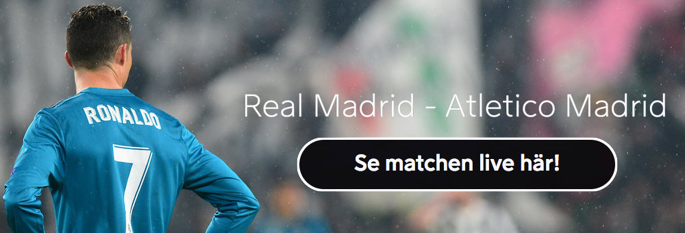 Atletico Madrid Real Madrid live stream
