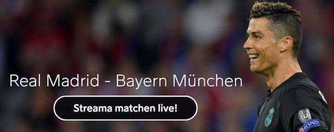 Real Madrid Bayern Munchen live stream