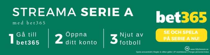 Inter Milan live streaming gratis - streama Inter Milan live stream gratis hos bet365TV!
