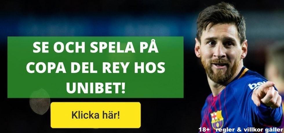 Copa del Rey live stream gratis? Streama Spanska Cupen live online gratis här!