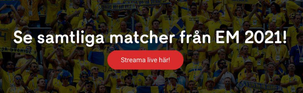 EM finalen TV-tider – vilken kanal sänder Euro final? Se här!