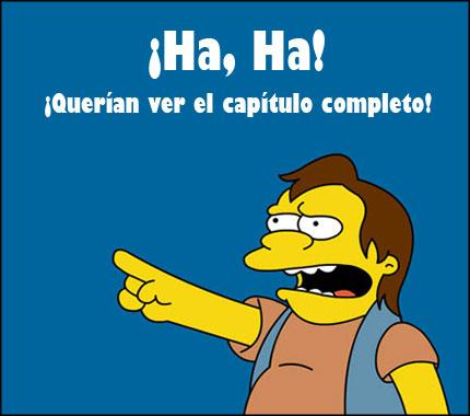 Los Simpsons Canal 13 Cuenta Conmigo