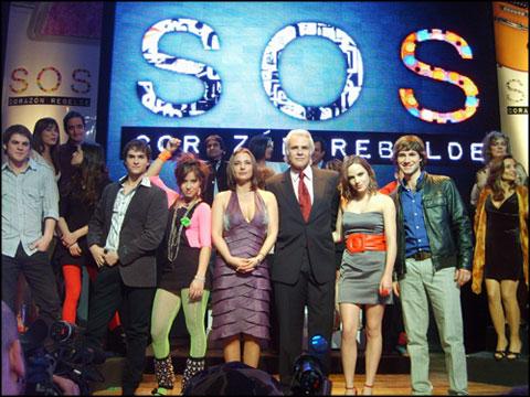 SOS Corazón Rebelde Canal 13 Denise Roshental Augusto Schuster Herval Abreu Katty Kowaleczko Luciana Echeverria Ignacio Garmendia