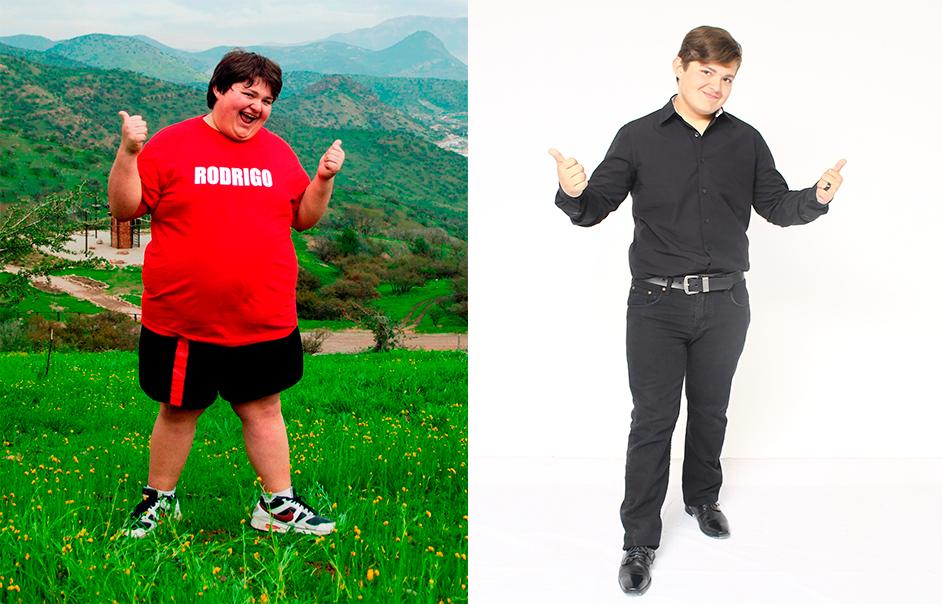 rodrigo antes y después