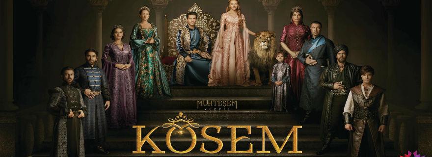 """Canal 13 presentó su nueva superproducción turca: """"Kosem, la sultana"""""""