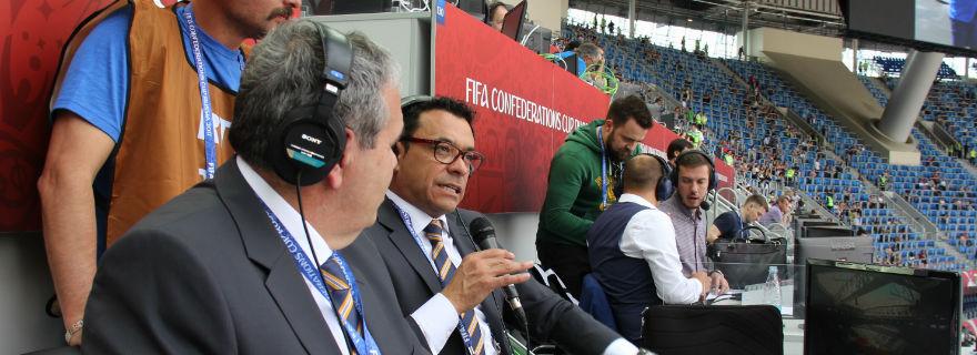 Canal 13 vence por estrecho margen a Mega con partido de Chile y Alemania
