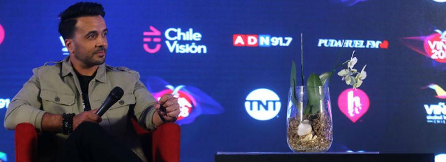 El desconocido vínculo de Luis Fonsi con Valentín Trujillo que reveló en Viña 2018