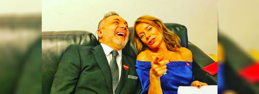 """Luis Jara reacciona a la sorpresiva salida de Katherine Salosny del """"Mucho Gusto"""""""