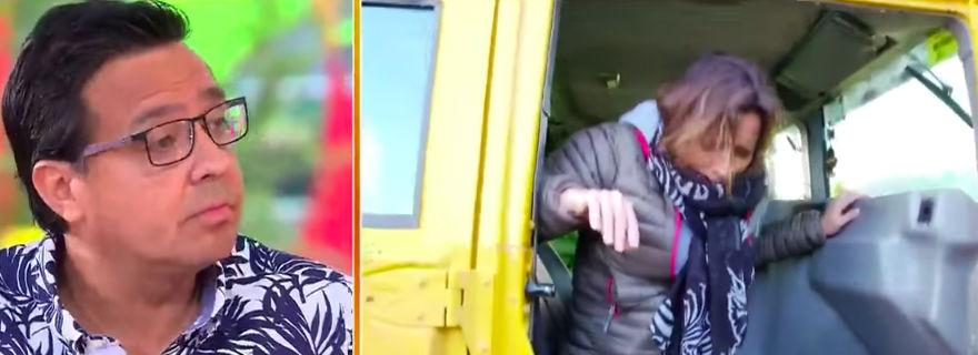 """Mega desmiente a Álvaro Sanhueza tras culpar a Luis Jara de la salida de Kathy Salosny del """"Mucho Gusto"""""""