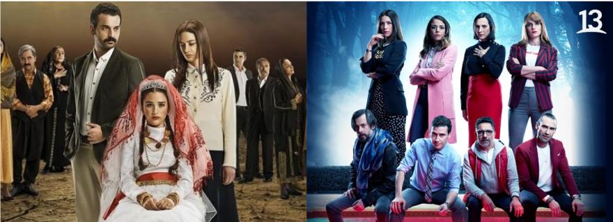 """""""Pacto de Sangre"""" y """"Esposa Joven"""": La otra guerra de las teleseries en el bloque prime"""