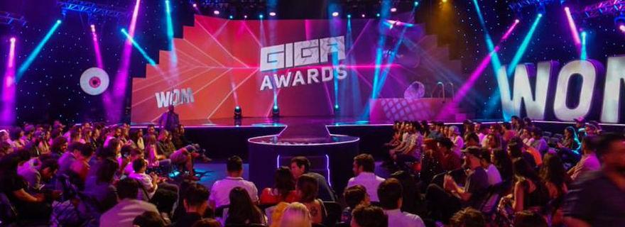 Transmisión de los Giga Awards 2019 por Canal 13 quedó tercero en sintonía: conoce a los ganadores