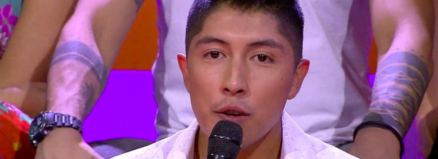 """¡Se aburrió!: Juan Ángel Mallorca mostró su incomodidad en """"Rojo"""" por """"forzar"""" su relación con Milly Donoso"""