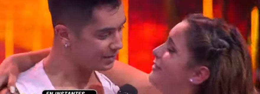 """¡De culebrón!: La emotiva despedida de Raúl Alarcón y Milly Donoso en """"Rojo"""""""