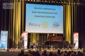 Benefizkonzert mit pianoARTventure - 100 Jahre Rotary Foundation www.foto-MAXL.at
