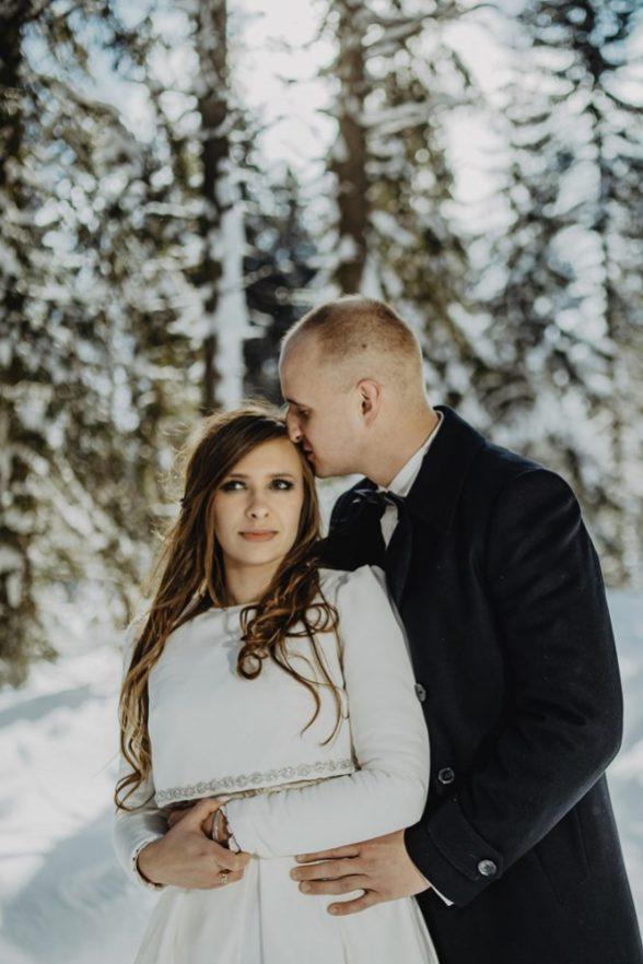Tatry-Słowacja-Zima-Sesja-Ślubna-16