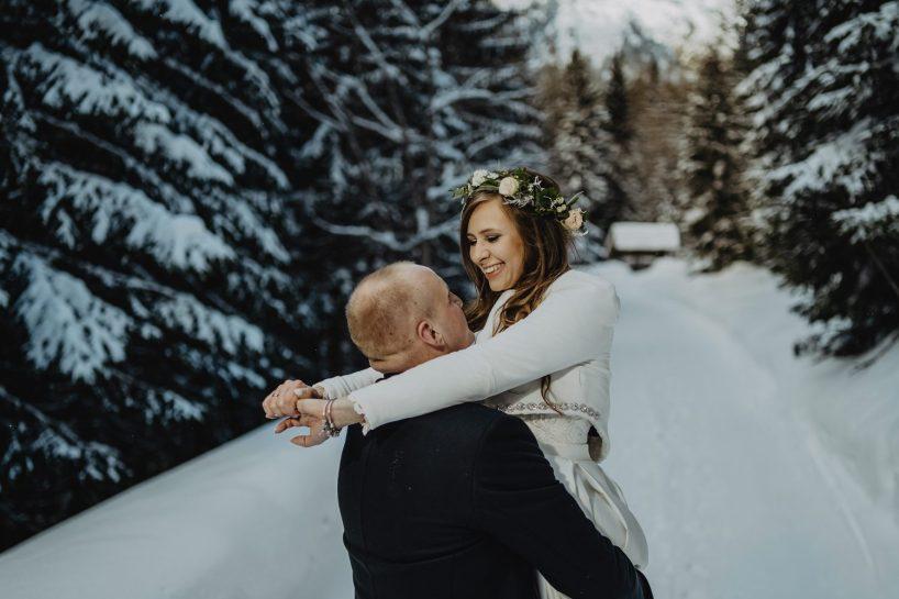 Tatry-Słowacja-Zima-Sesja-Ślubna-21