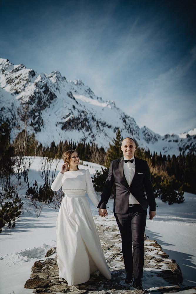 Tatry-Słowacja-Zima-Sesja-Ślubna-64