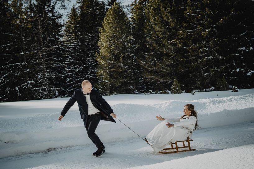 Tatry-Słowacja-Zima-Sesja-Ślubna-73