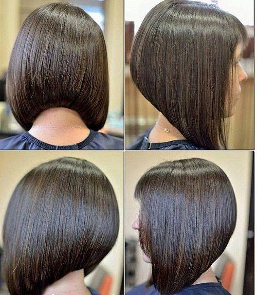 Варианты стрижки боб-каре с удлинением | Фото волос ...