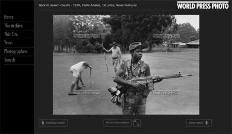 © Eddie Adams on World Press Photo archive