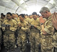 A week with British Army logistics in Helmand